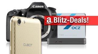 Blitzangebote: Festplattengehäuse, SSD, Cubot-Smartphone, EOS 80D u.v.m. vergünstigt zum Bestpreis