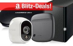 Blitzangebote:<b> 4K Android TV-Box, WLAN-Festplatte, NAS, Smart Home Kamera u.v.m. nur heute zum Bestpreis</b></b>