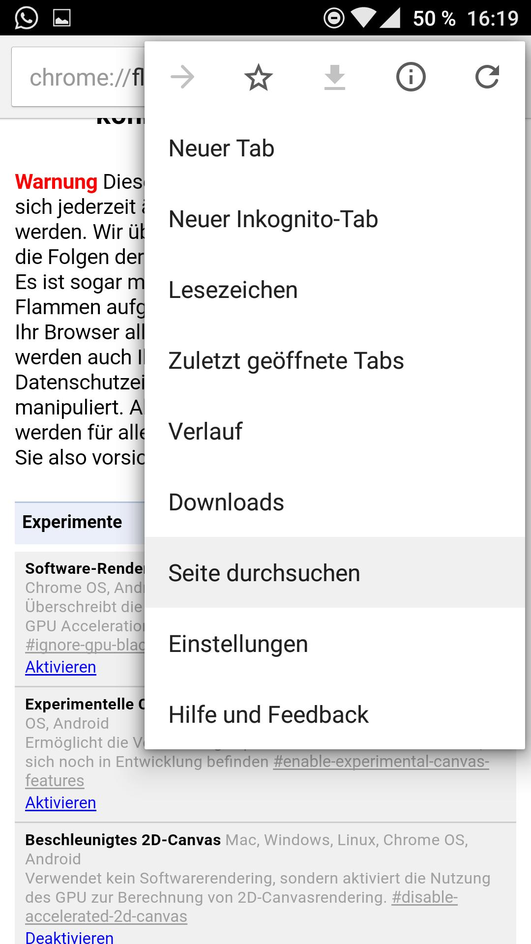 Chrome Adressleiste Unten