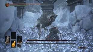 Dark Souls 3 - Ashes of Ariandel: Meister-Grabhüter und Großwolf im Boss-Guide mit Video