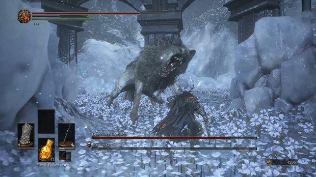 Dark Souls 3 - Ashes of Ariandel: Meister-Grabhüter und Großwolf im Boss-Guide mit Video
