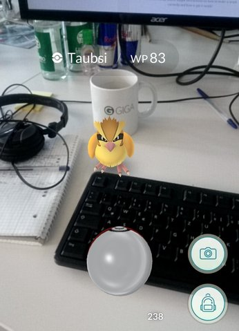 Fang Bonus für Pokemon Go