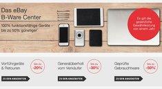 eBay B-Ware Center: Windows-Notebooks zu Bestpreisen und mit 10 Prozent zusätzlichem Rabatt