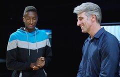 Apple-Manager sprechen über...