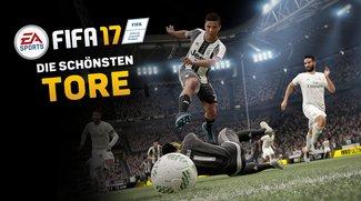 Spektakulär und skurril: Die besten Tore aus FIFA 17