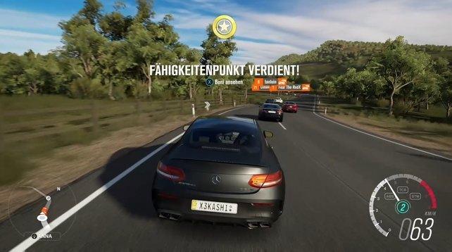 Forza Horizon 3 Fähigkeitspunkt