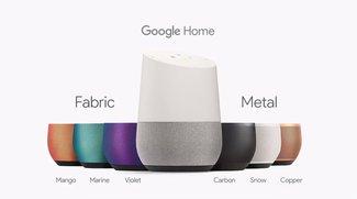 Google Home: Preis und Verfügbarkeit des smarten Lautsprechers bekanntgegeben