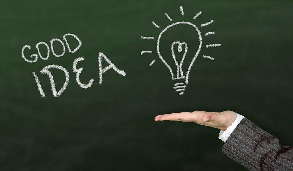 Im dritten Teil stellst du deine Idee oder dein Produkt vor. (Quelle: pixabay)