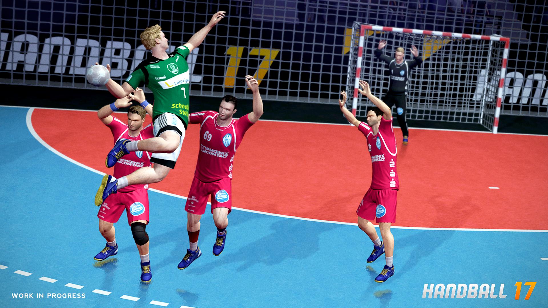 Handball Spiel