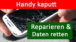Handy kaputt: Garantie, reparieren & Daten retten – so geht's