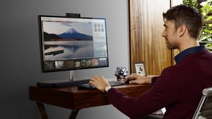 HP Envy AiO: Schicker All-in-One-PC mit Soundbar und Micro-Edge-Display