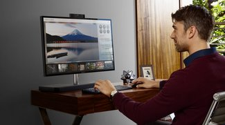 HP Envy AiO: Schicker All-in-One-PC mit Soundbar und Micro-Edge-Display