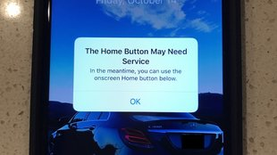 iPhone 7 zeigt bei Home-Button-Problemen virtuellen Button an