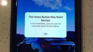 iPhone 7 zeigt bei Home-Button-Problemen virtuellen Button an