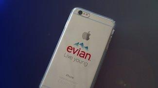 Selbstgebaut: Smartphone-Hüllen mit Evian-Logo sind der neue Trend
