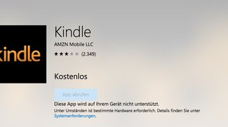 Kindle: Amazon stampft Windows-App ein
