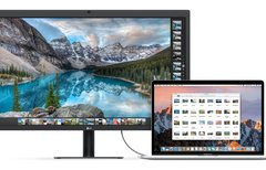 Das Thunderbolt 3 Display...