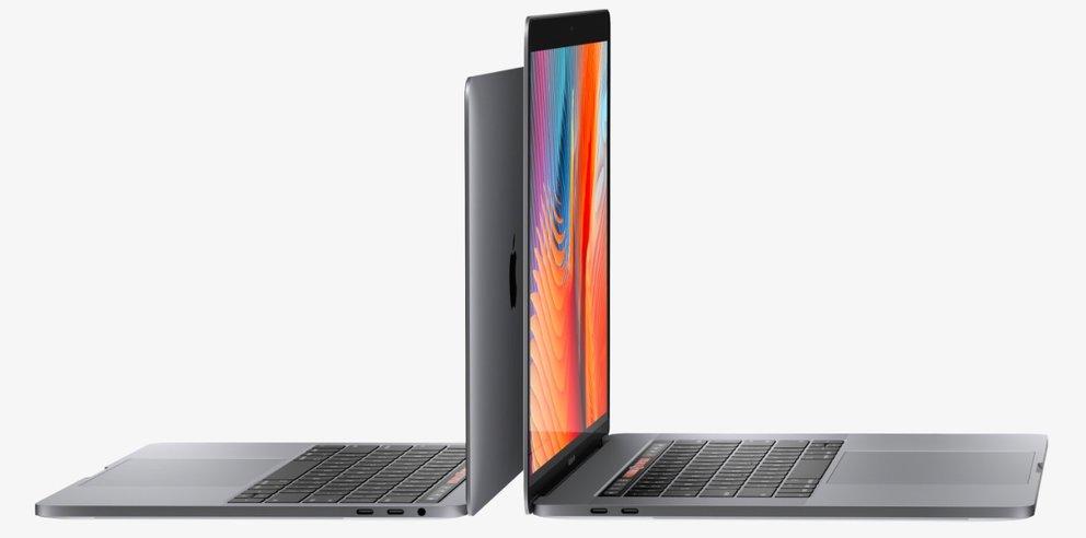 MacBook Pro: Rechte Thunderbolt-3-Anschlüsse im 13-Zoll-Modell sind langsamer