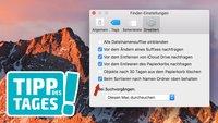 Tipp: Ordner im Finder von macOS oben positionieren