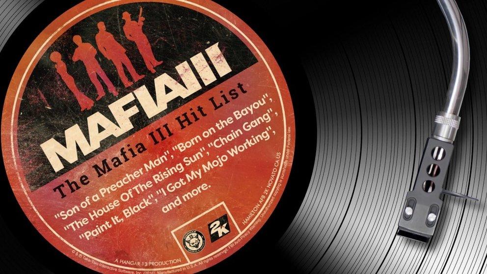 Der Soundtrack ist bei der Collector's Edition von Mafia 3 dabei.