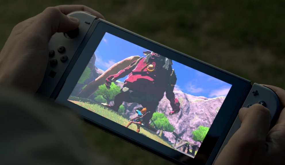 Die Tablet-Einheit der Nintendo Switch dürfte eine Displaydiagonale von mindestens 6 Zoll besitzen.