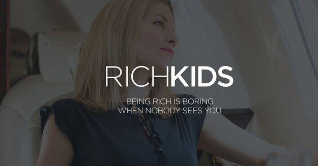 In dieses soziale Netzwerk kommst du nur rein, wenn du reich bist