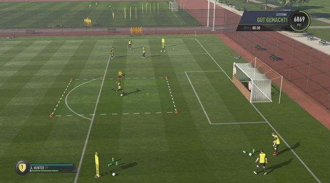 FIFA 17 Tore schießen.