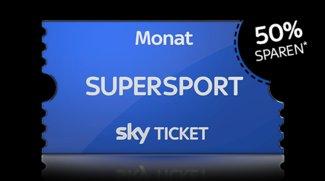 50 Prozent Rabatt: Sky Supersport Monatsticket für nur 14,99 Euro