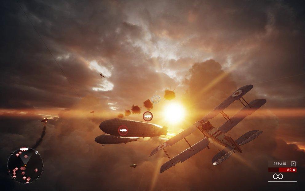 """In """"Einflussreiche Freunde"""" nehme ich an einer Luftschlacht über den Dächern Lonons teil."""