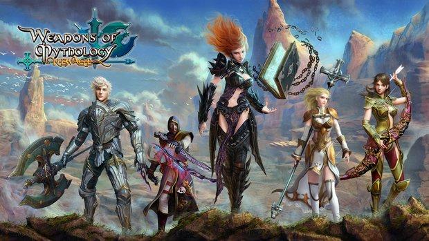 Weapons of Mythology - New Age: Hol Dir jetzt einen Beta-Key für das MMORPG