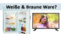 Weiße Ware & Braune Ware – Was ist das und wo gibt's das Zeug zu kaufen?