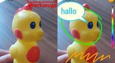 <i>WhatsApp:</i> Emojis, Smiley, Text und Filter auf Fotos & Videos einfügen – so geht's