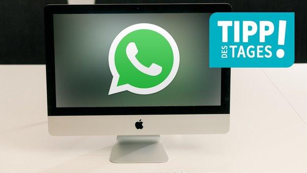 WhatsApp auf dem Mac nutzen, so gehts