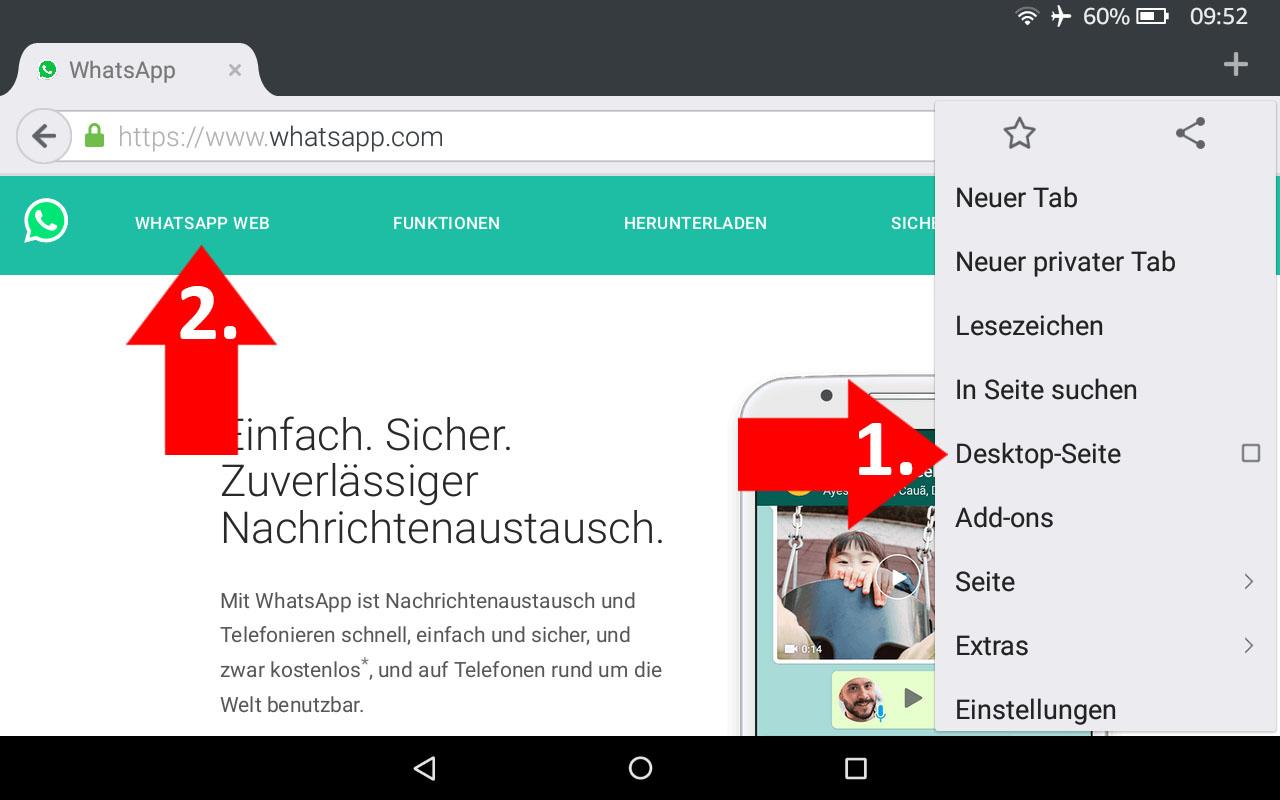 Whatsapp Ohne Sim Karte Nutzen.Whatsapp Auf Dem Tablet Nutzen So Geht S