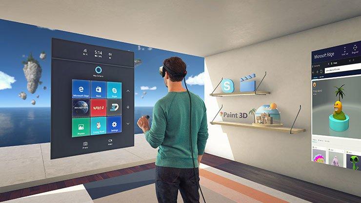 Windows 10: Das Creators Update fokussiert stark auf 3D. Bildquelle: Microsoft