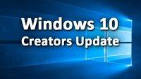 Windows 10: Creators Update installieren & deinstallieren – so geht's