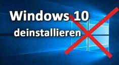 Windows 10 deinstallieren & entfernen – Anleitung