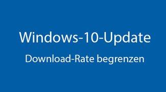 Windows 10: Update blockiert Internet-Bandbreite – so begrenzt ihr die Download-Rate