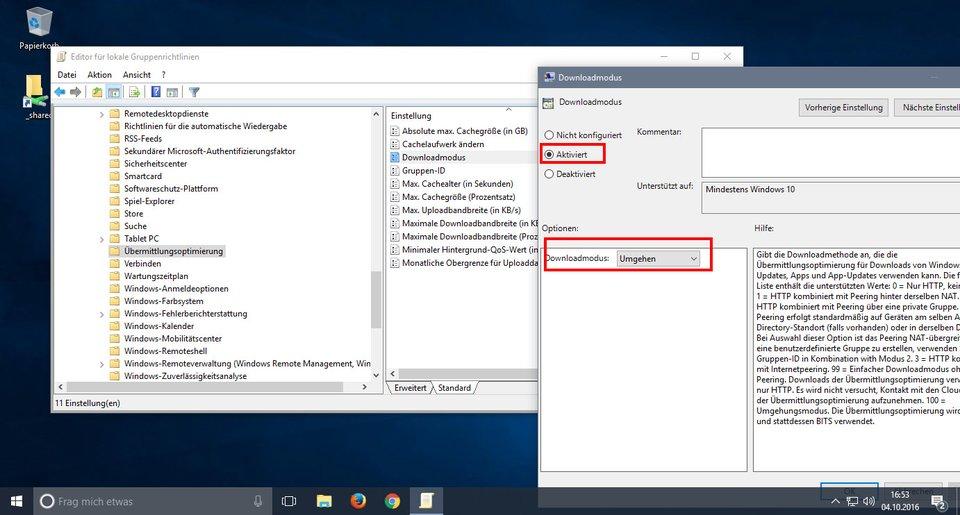 Windows 10: Hier deaktiviert ihr WUDO.