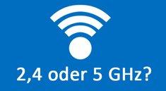 WLAN: 2,4 oder 5 GHz? Welches Frequenzband ist besser?
