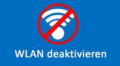 WLAN ausschalten (Speedport, Fritzbox, Laptop etc.) – so geht's