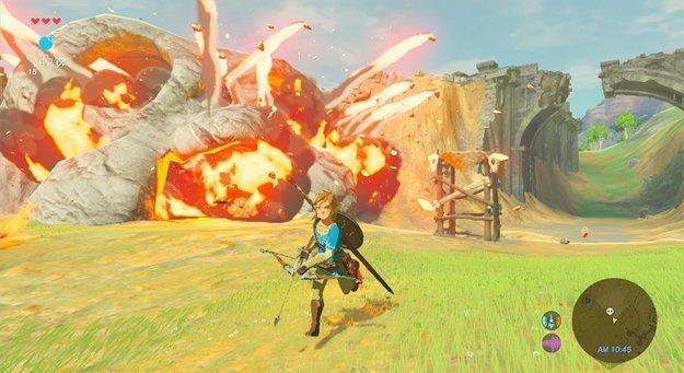 Zelda – Breath of the Wild: Drei neue Gameplay-Videos zeigen mehr vom Abenteuer