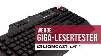 Gaming-Tastatur von Lioncast: Werde einer von 30 GIGA-Lesertestern auf mytest!