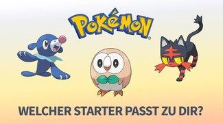 Pokémon Sonne & Mond: Welcher Starter ist perfekt für Dich?