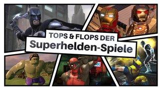 Superhelden an die Macht: Die besten und schlechtesten Spiele mit maskierten Rächern