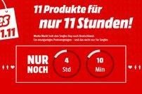 Singles-Day bei Media Markt: 11 Produkte zum Hammer-Preis, nur 11 Stunden lang!