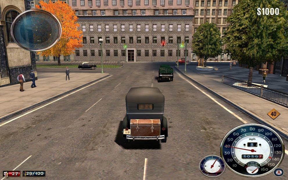 Mafia bot eine riesige, frei begehbare Spielwelt. Im Mittelpunkt des Spiels stand jedoch die Story.