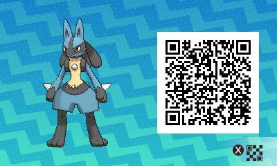 Pokemon Lucario Qr Code Images Pokemon Images