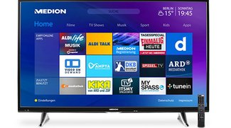 ALDI-Fernseher: MEDION LIFE X18068 mit 55 Zoll und 4K ab morgen zum Killerpreis erhältlich