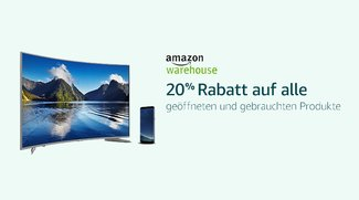 Amazon Cyber Monday Woche: 20 % Rabatt auf alle Warehouse Deals